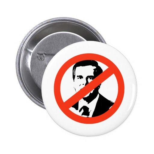 ANTI-JEB - ANTI BUSH - ANTI-Jeb Bush Pinback Buttons