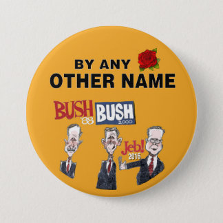 Anti-Jeb Bush 2016 Pinback Button