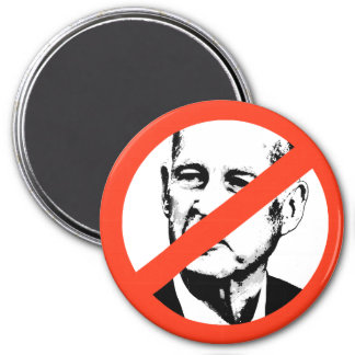 ANTI-JERRY BROWN MAGNET