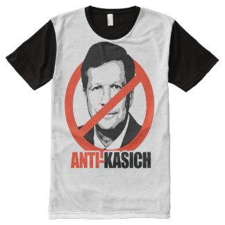 Anti-Kasich All-Over Print T-shirt