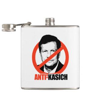 Anti-Kasich Hip Flasks