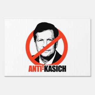 Anti-Kasich Sign