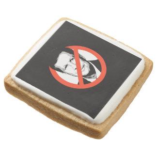Anti-Kasich Square Premium Shortbread Cookie