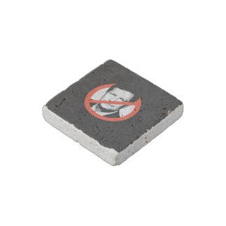Anti-Kasich Stone Magnet