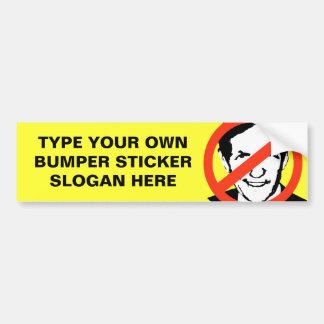 ANTI-KUCINICH: ANTI-Dennis Kucinich Bumper Sticker