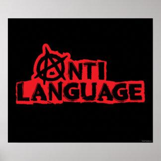 Anti-Language Poster