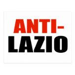 ANTI-LAZIO TARJETA POSTAL