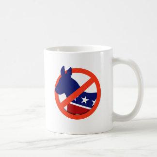 Anti-Liberal/Anti-Demócrata Taza Clásica