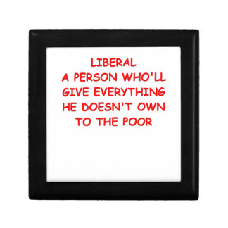 anti liberal keepsake boxes