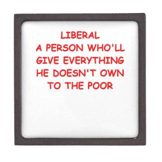 anti liberal premium keepsake boxes