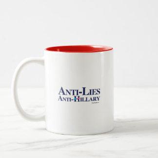 Anti-Lies Anti-Hillary Coffee Mug