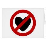 Anti Love Greeting Cards