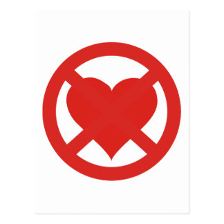 Anti Love Postcard