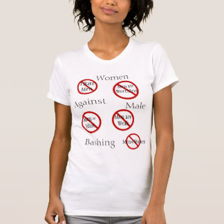 Anti Male Bashing Tshirt