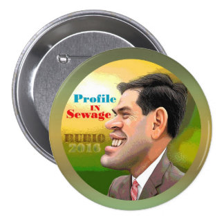 Anti-Marco Rubio for President 2016 Buttons