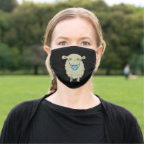 Anti-Mask Mask-Wearing Sheep Cloth Face Mask