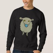 Anti-Mask Mask-Wearing Sheep Sweatshirt