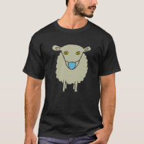 Anti-Mask Mask-Wearing Sheep T-Shirt
