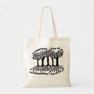 Anti-Mass Incarceration Tote Bag