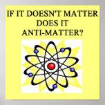 anti-matter joke print