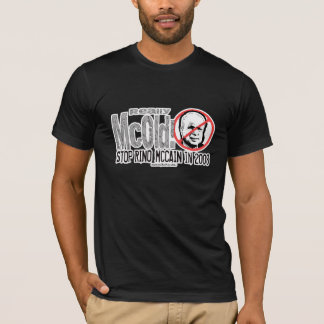 Anti-McCain Circle Rino T-Shirt