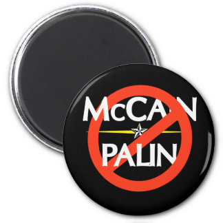 Anti-McCain/Palin Sticker Magnet