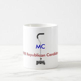 Anti-McCain vea ambos lados Taza