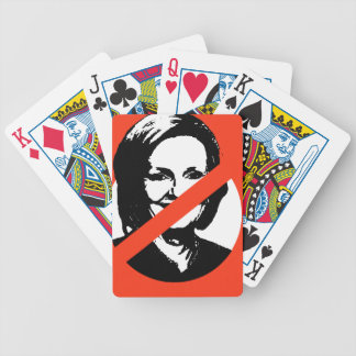 ANTI-MCCASKILL BICYCLE PLAYING CARDS