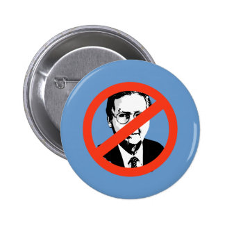 ANTI-MCCONNELL - ANTI-Mitch Mcconnell Pinback Button