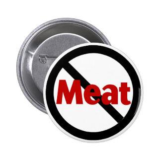 Anti Meat Pinback Button