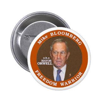 Anti-Michael Bloomberg Pinback Button