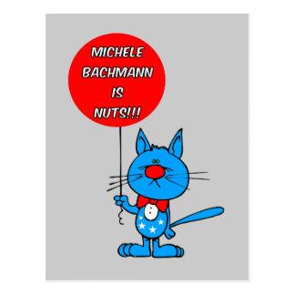 anti Michele Bachmann Postcard