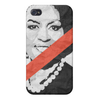 ANTI-MICHELLE OBAMA iPhone 4 COVERS