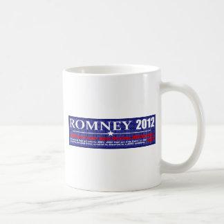 Anti Mitt Romney 2012 President JOB MACHINE Design Coffee Mug