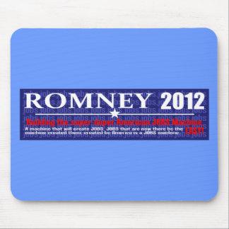 Anti Mitt Romney 2012 President JOB MACHINE Design Mouse Pad