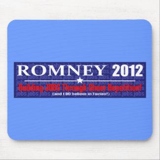 Anti Mitt Romney 2012 President REPETITION Design Mouse Pad