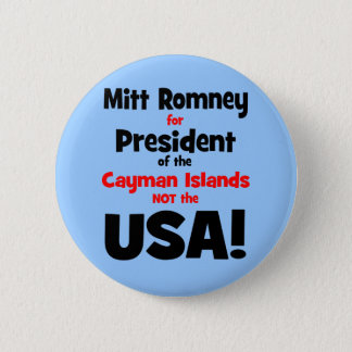 anti Mitt Romney Button