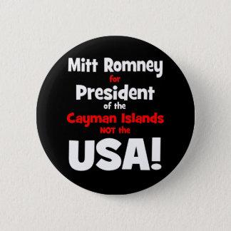 anti Mitt Romney Button