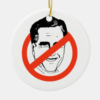 ANTI- MITT ROMNEY CHRISTMAS ORNAMENT