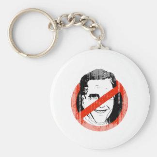 Anti Mitt Romney -.png Basic Round Button Keychain