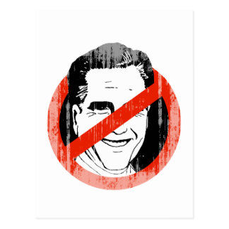 Anti Mitt Romney -.png Postcard
