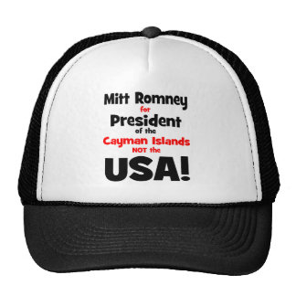 anti Mitt Romney Trucker Hat
