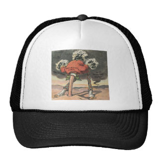 Anti-Mitt Romney with Head in the Sand Trucker Hat