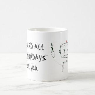 Anti-Monday Robot Mug