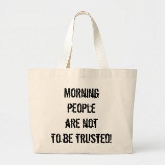 Anti-Morning People Tote Bag