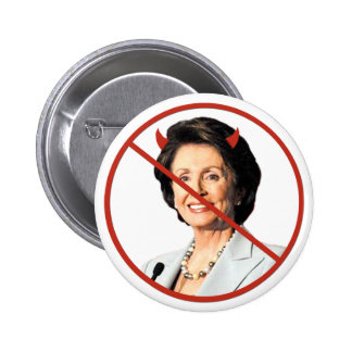 Anti Nancy Pelosi 2 Inch Round Button