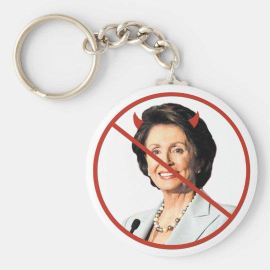 Anti Nancy Pelosi Keychain