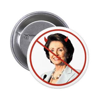 Anti Nancy Pelosi Pinback Buttons
