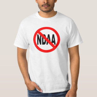 ANTI NDAA T-SHIRT