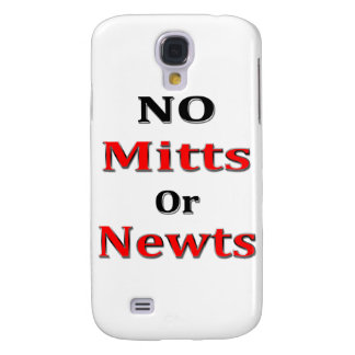 Anti Newt Gingrich Mitt Romney blk red Samsung Galaxy S4 Covers